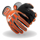 Cut Level A4 Synthetic Palm Impact Glove