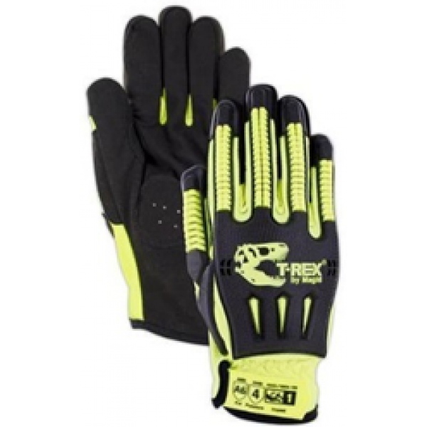 Cut Level A6 Synthetic Palm Impact Glove