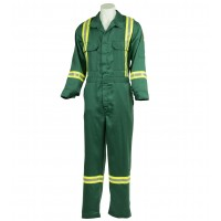 6oz Vented Flame Resistant Coverall