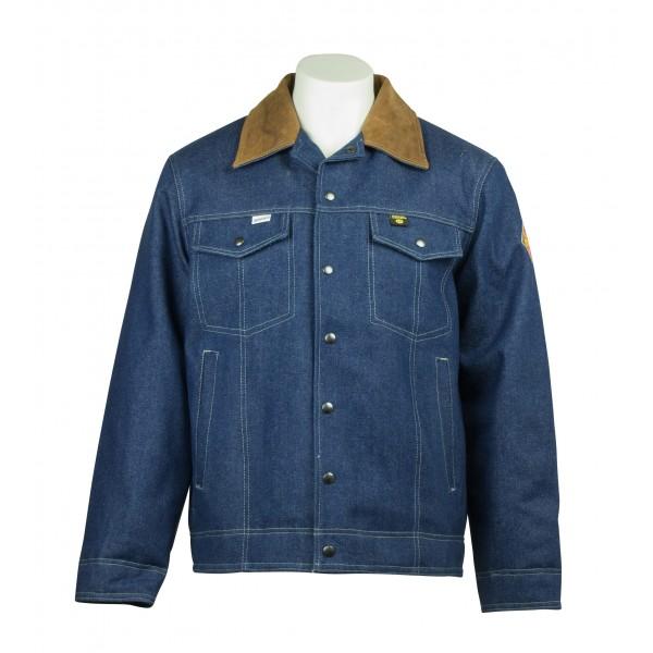 Indura ®  Lined Denim Flame Resistant  Jacket