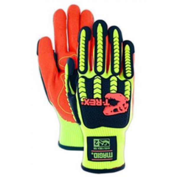 Cut Level A1 Synthetic Palm Impact Glove